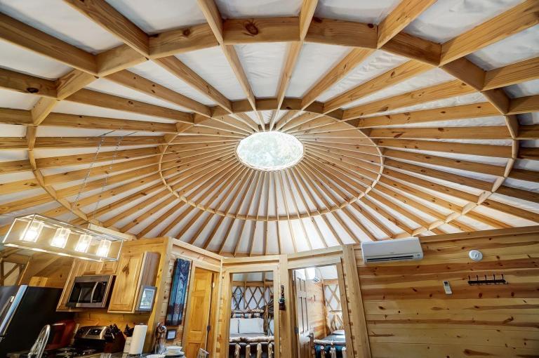 Yurt in Hocking Hills