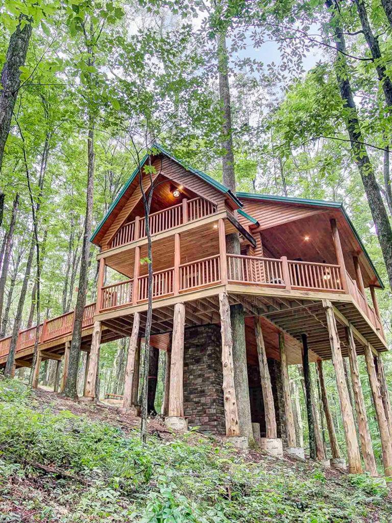 Canopy Ridge Cabins Treehouse Hocking Hills