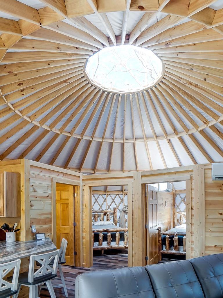 Canopy Ridge Cabins Yurt Hocking Hills